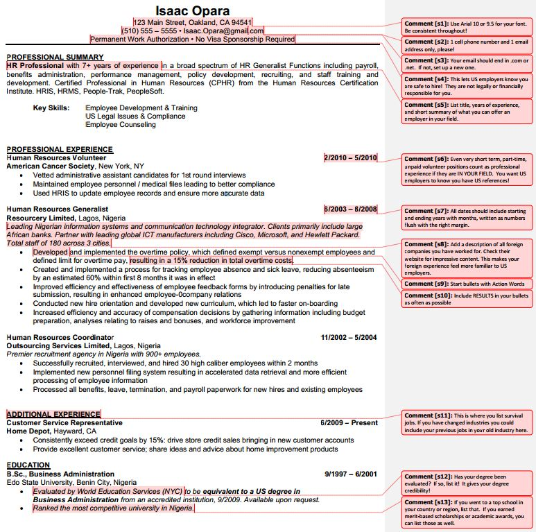 Upwardly Global Sample Resume Template  Jobmap